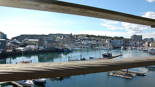 <p>Overlooking Sutton Harbour</p>