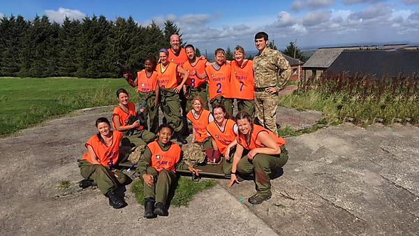 Emergency health team excels in military challenge