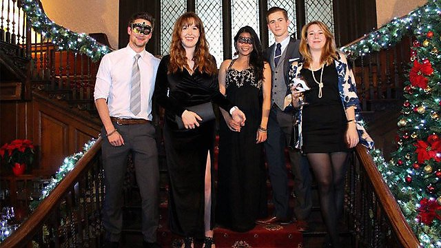 <p>Chrisha Calunod Geology Christmas Ball 2015</p>