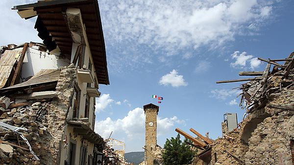 <p>Amatrice, Italy, 2017: The centre of the country one year after the earthquake<br></p>