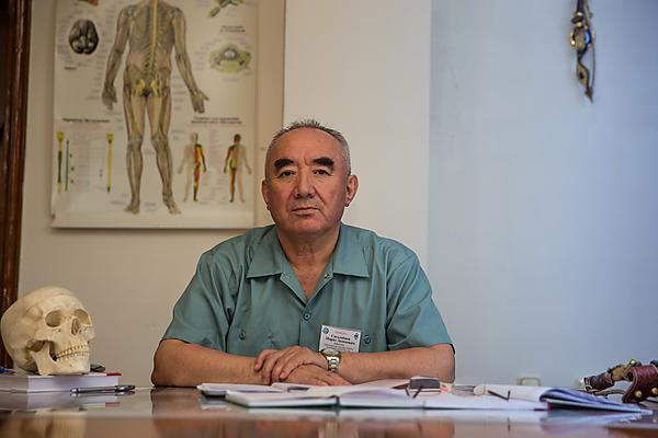 Photojournalism of pulmonary rehabilitation in Kyrgyzstan