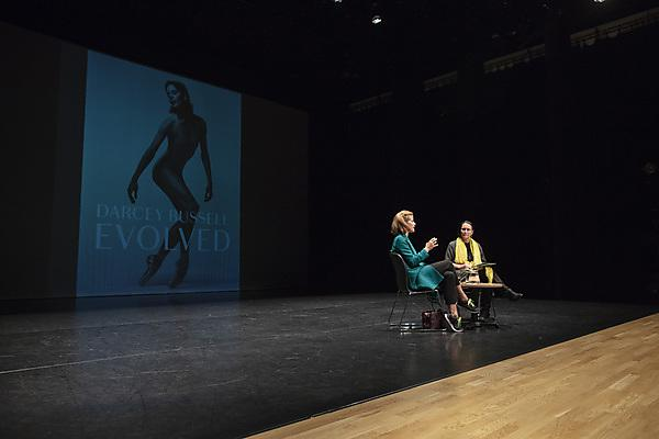Dame Darcey Bussell takes to the stage at the University of Plymouth
