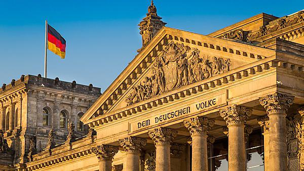 <p>Close-up of the Reichstag building, seat of the German Parliament (Deutscher Bundestag), Berlin, Germany (Getty Images)<br></p>