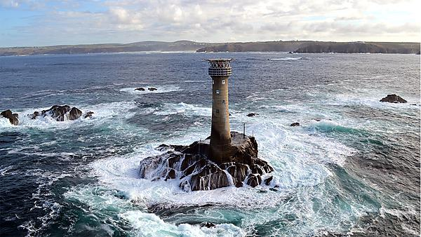 <p>Longships lighthouse in Cornwall</p>