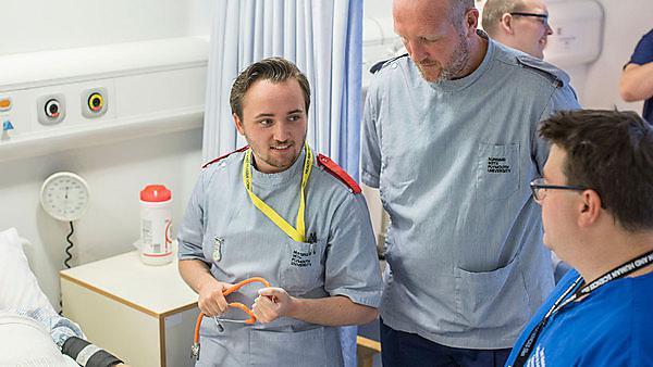 <p>Men in nursing</p>