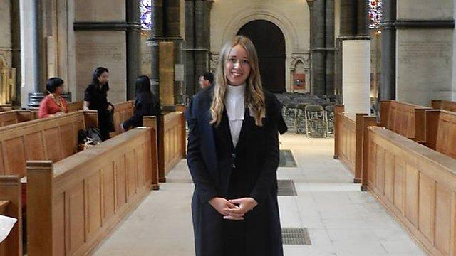 <p>Jennifer Smith,LLB (Hons) Law graduate</p>