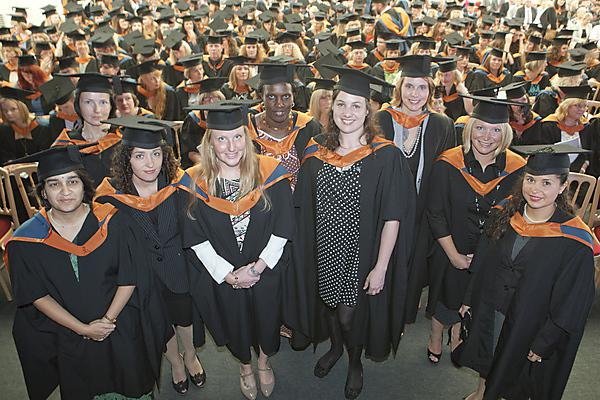 Health Professions graduation ceremony 2013
