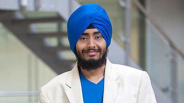 Masters placement student - Charanjeet Singh Vaseir