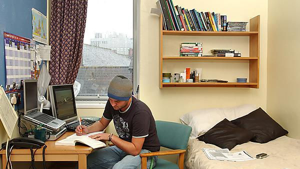 Your study bedroom is the perfect place for focusing on your uni work...