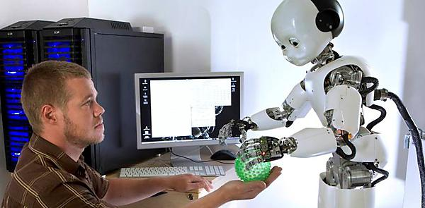 Robot with ball
