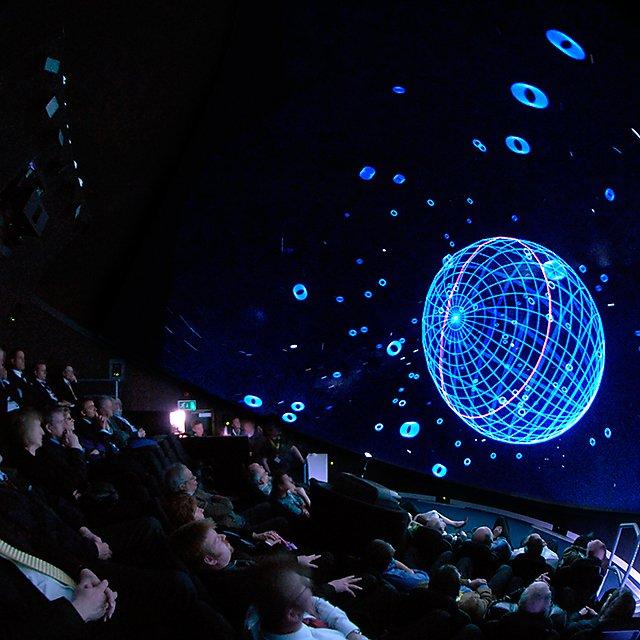 CFP 9 Immersive vision theatre interior