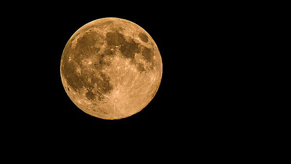 Super moon August 2014