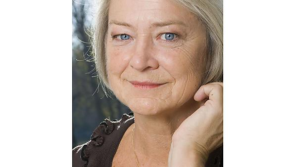 Kate Adie by Ken Lennox