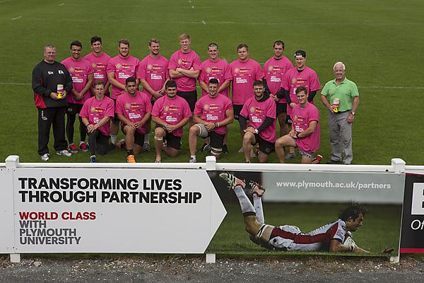 It's a touchdown for Brain Tumour Research and Plymouth Albion