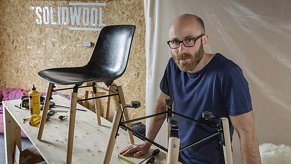 Justin Floyd – MA Design graduate and founder of SolidWool