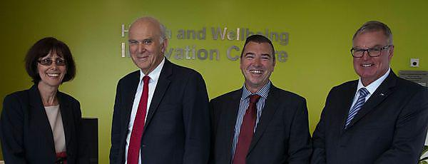 Innovation Centre praised by Secretary of State