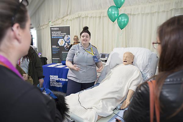 <p>Nursing at Health Showcase 2018</p>