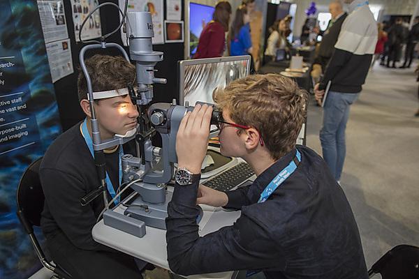 <p>Optometry at Health Showcase 2018</p>