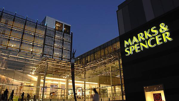 <p>Marks &amp; Spencer, Drake Circus Shopping Mall</p>