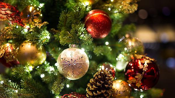 <p>Background with Christmas balls - Soft focus<br></p>