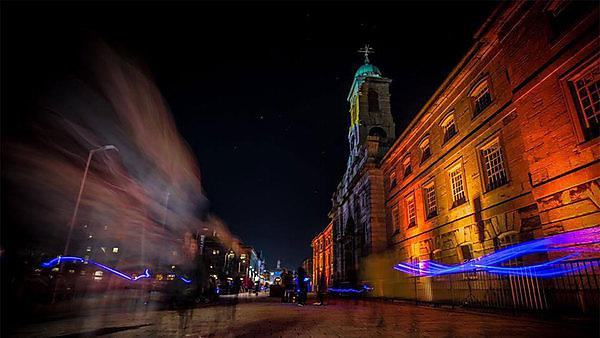 <p>Illuminate Festival of Light at Royal William Yard</p>