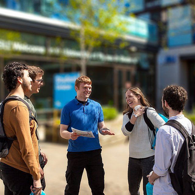 <p>University of Plymouth open day</p>