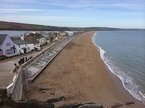 <p>The beach at Torcross, Devon, in March 2015<br></p>