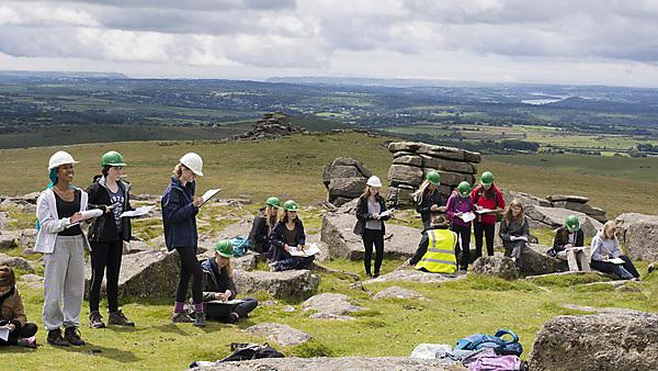 <p>Girls into Geoscience - field trip 2018</p>