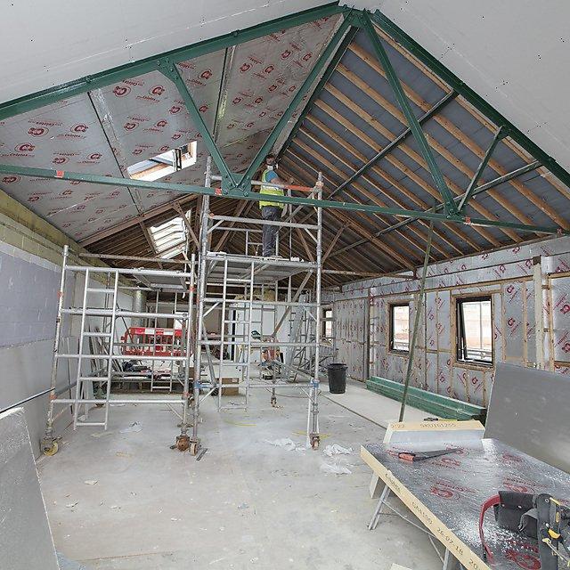 <p>Kirkby Lodge refurbishment images</p>