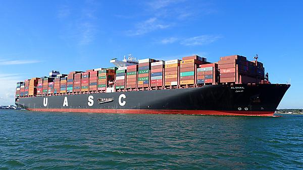 <p>Container ship. Navigation and Maritime Science</p>