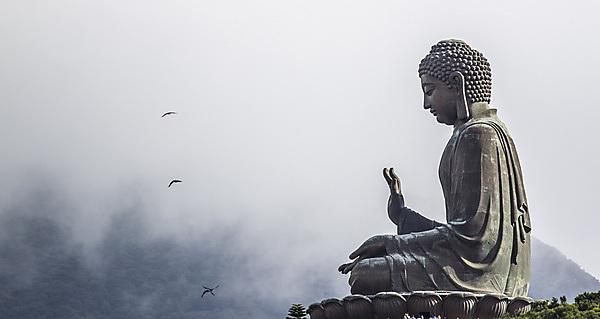 <p>Tian Tan Buddha, also known as the Big Buddha. Hong Kong, China.<br><br></p>
