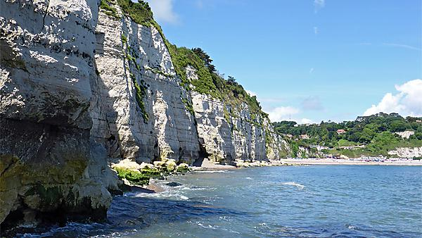 Bite size: Geology in motion: Rockfalls in the South West