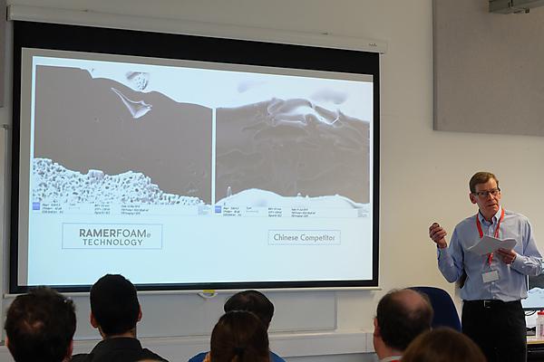 Steve Cooper talks aboutapplications for the Ramerfoam® Technology