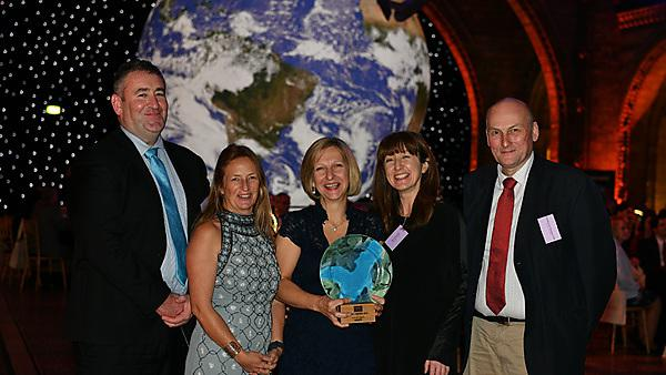 Scientists earn awards for global impact of microplastics research
