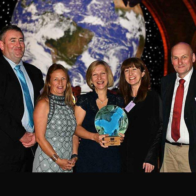 <p>NERC Impact Award</p>