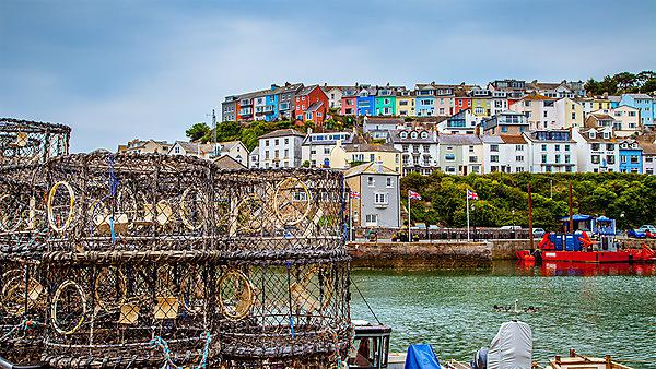 <p>Fishing port of Brixham, Devon.</p>