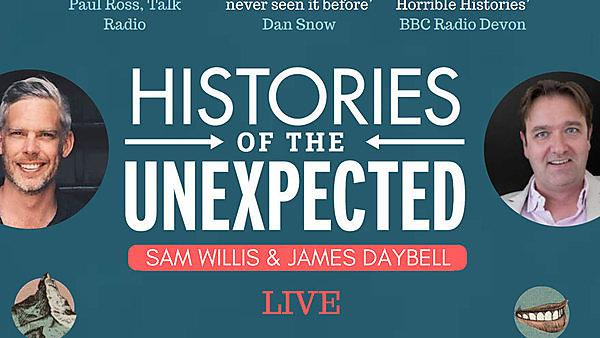 Talk: Histories of the Unexpected LIVE