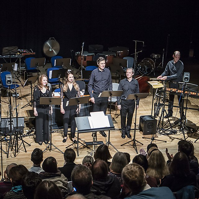<p>Vōv brought to live on stage at the University's Contemporary Music Festival.<br></p>