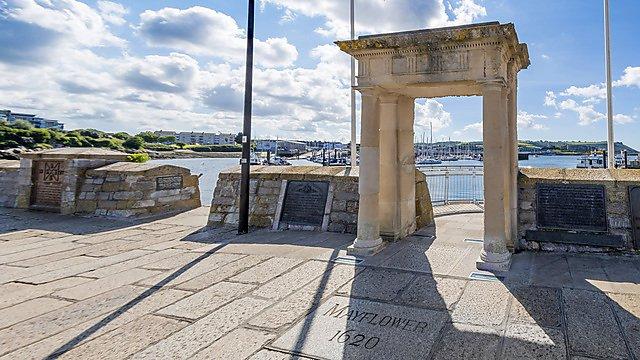 <p>Mayflower Steps Getty&nbsp;Images</p>