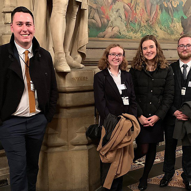 <p>Apprentices Jack Richards, Claire Knight, Phoebe Ward and Jon Loates<br></p>
