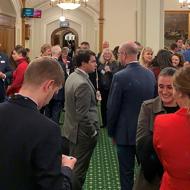 <p>The apprentices event at the Churchill Room in the House of Commons<br></p>