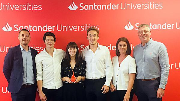 Santander with the University of Plymouth