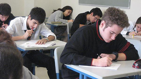 <p>Students in classroom</p>