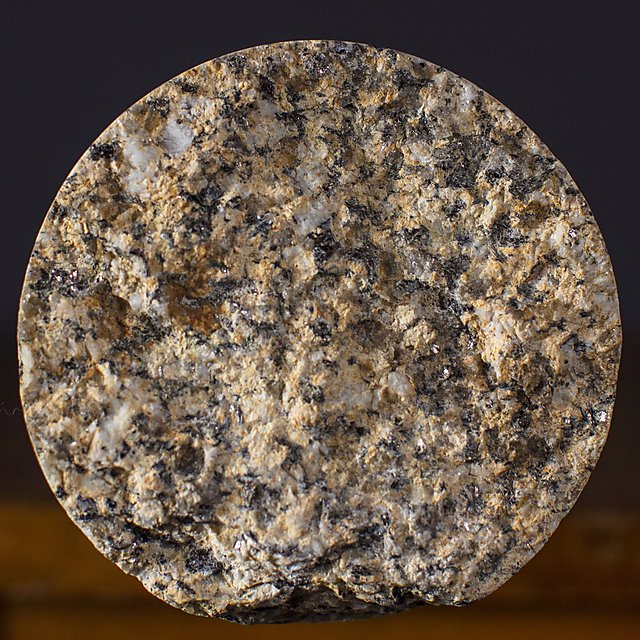 <p>Granite core sample from Cornwall</p>
