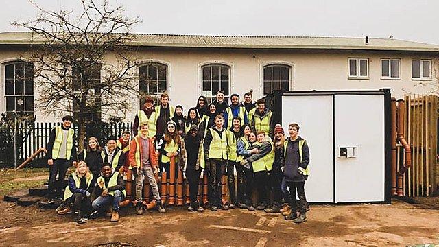 <p>Freya Kay architecture students nursery project</p>