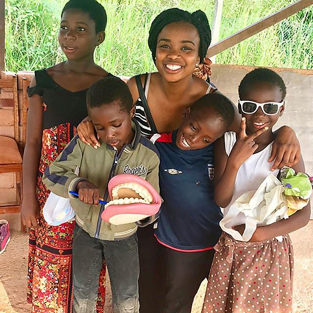 <p>  Yewande Oduwole visited the Amazing Grace orphanage in Takoradi, Ghana.<br></p>