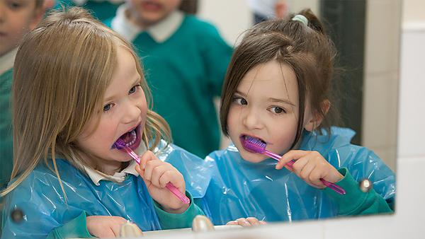 <p>Primary school children dentistry</p>