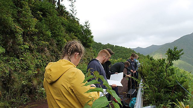 <p>BSc (Hons) Biological Sciences - Azores field trip</p>