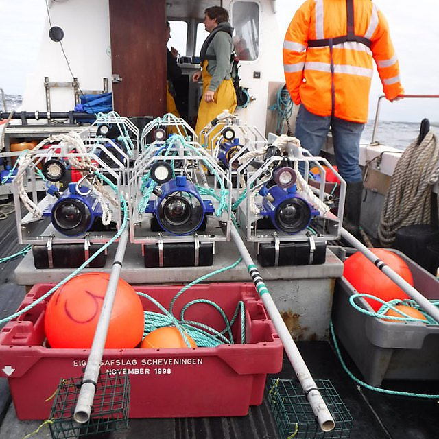 <p>BRUVS ready for deployment at EMEC Orkney's wave test site<br></p>