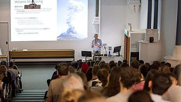 <p>Earth sciences outreach lecture</p>